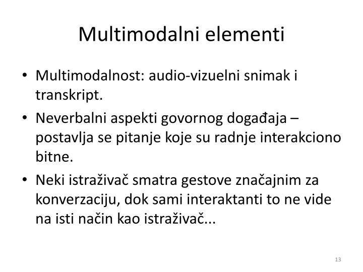 Multimodalni e