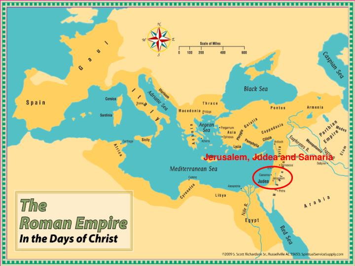 Jerusalem Judea Samaria And The Ends Of The Earth Map.Ppt Read Acts 1 8 And Then Find The Places Mentioned Powerpoint
