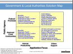 government local authorities solution map