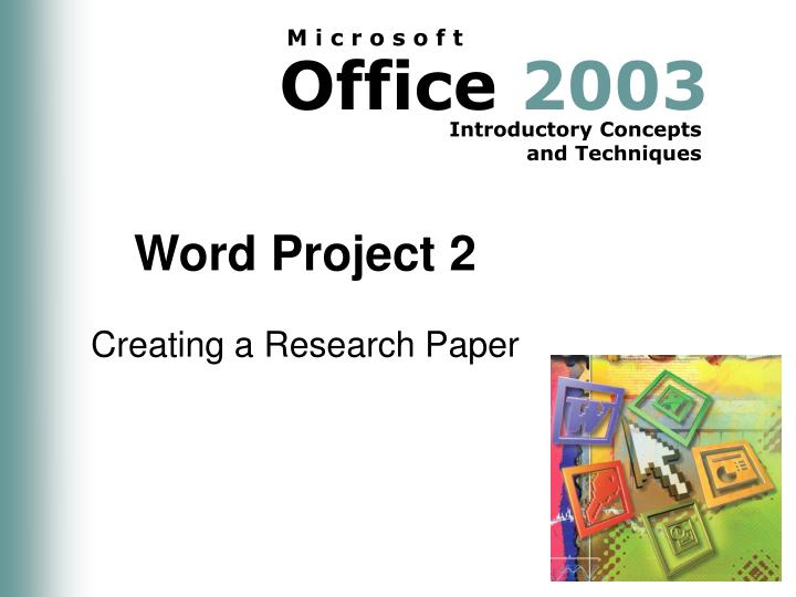 word project 2 n.