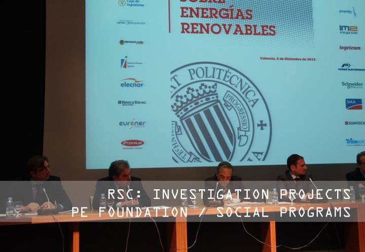RSC: INVESTIGATION PROJECTS