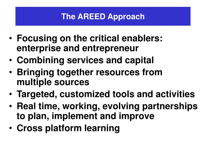 The AREED Approach