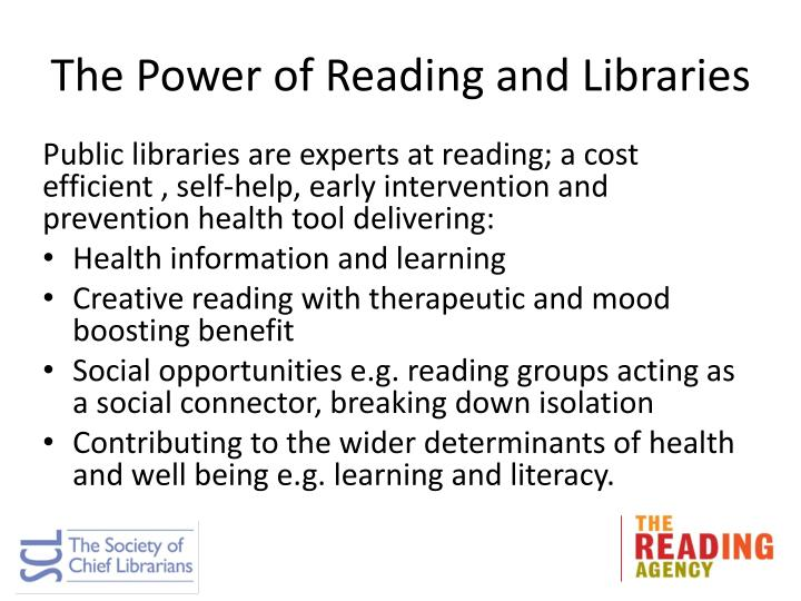 The Power of Reading and Libraries