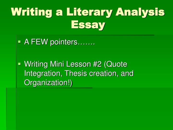 what makes literature good? essay Get an answer for 'what are the characteristic features of a good essay ' and find homework help for other essay lab questions at enotes.