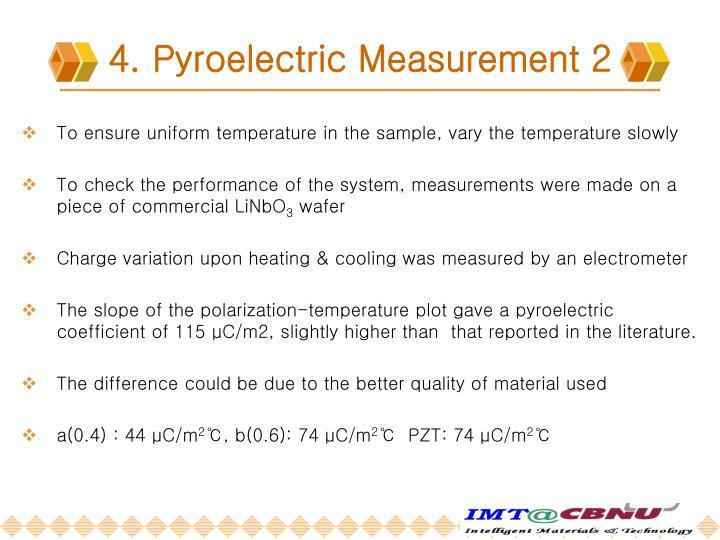 4. Pyroelectric Measurement 2