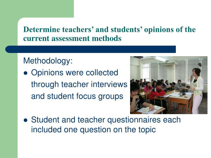 assessment methods for teacher Differentiated instruction and assessment (also known as differentiated learning or, in education, simply, differentiation) is a framework or philosophy for effective teaching that involves providing different students with different avenues to learning (often in the same classroom) in terms of: acquiring content processing, constructing, or making sense of ideas and developing teaching.