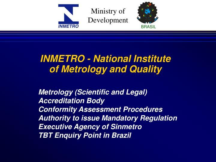 INMETRO - National Institute