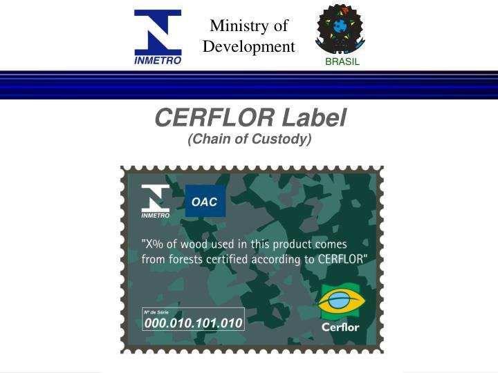 CERFLOR Label