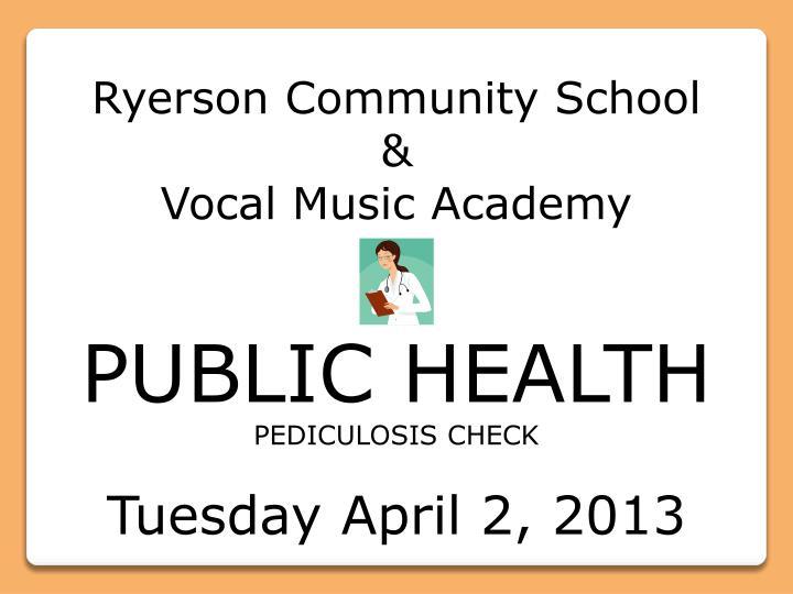 Ryerson Community School