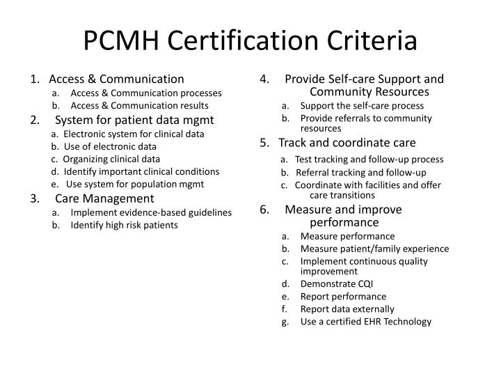 PPT - The Role of the PCMH in Healthcare Reform -- Corporate and ...