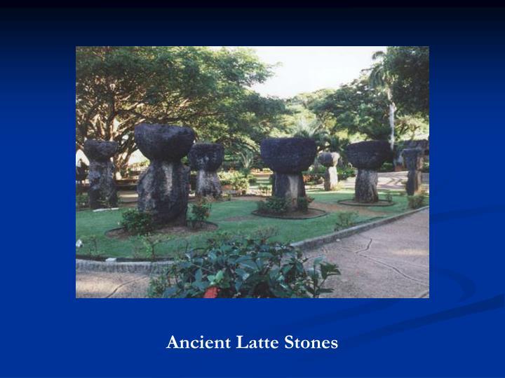 Ancient Latte Stones