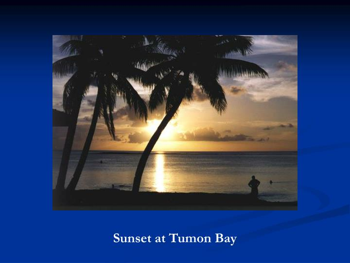 Sunset at Tumon Bay
