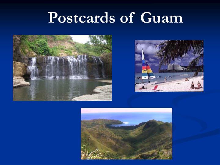 Postcards of Guam