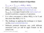 amortized analysis of algorithm s17