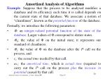 amortized analysis of algorithm s18