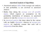 amortized analysis of algorithm s2