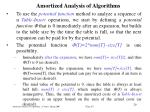 amortized analysis of algorithm s27