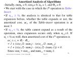 amortized analysis of algorithm s33