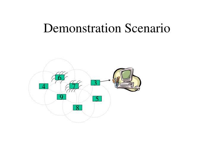 Demonstration Scenario