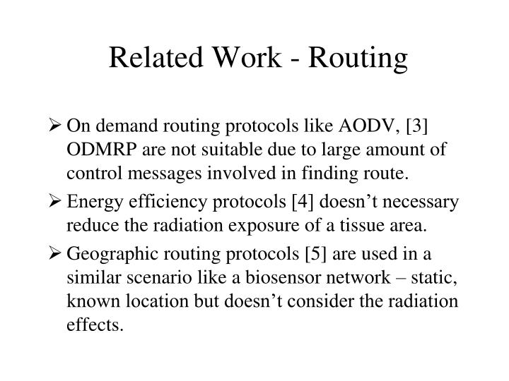 Related Work - Routing
