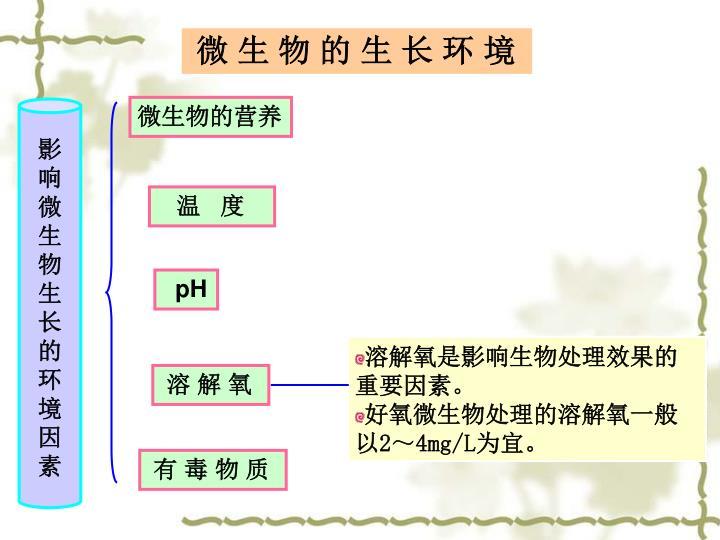 溶解氧是影响生物处理效果的重要因素。