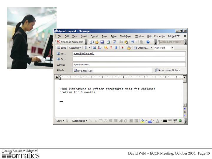 David Wild – ECCR Meeting, October 2005.  Page