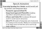 speech animation