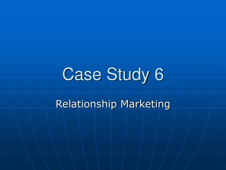 marketing chapter 1 case study Course description: a study of marketing problems and challenges through the 24/09/16, chapter 1: foundations of strategic marketing management, case 1:.