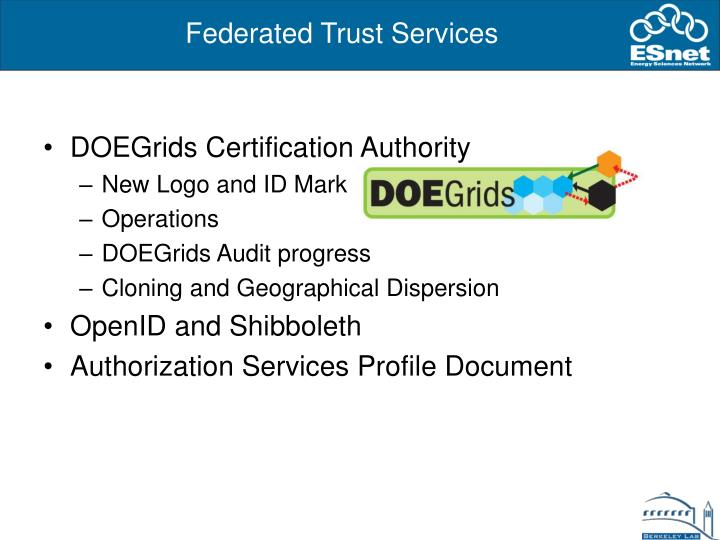 DOEGrids Certification Authority