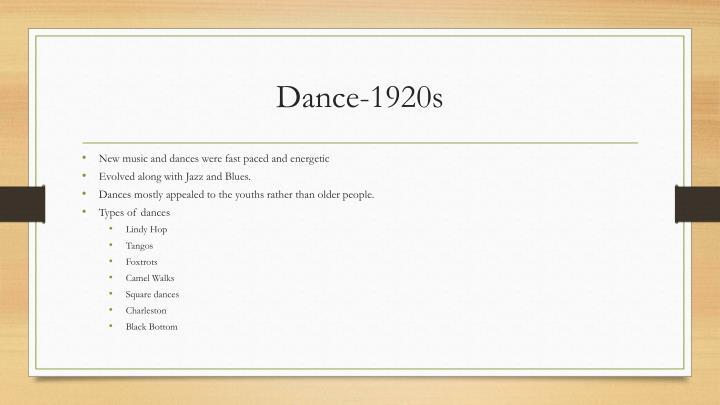 Dance-1920s