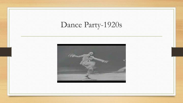 Dance Party-1920s