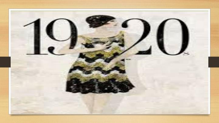 1920s pop culture