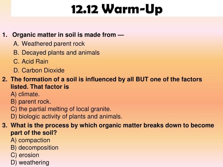 12.12 Warm-Up