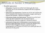 metodo di nelder e mead 3