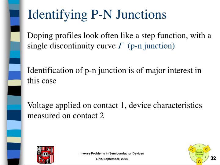 Identifying P-N Junctions