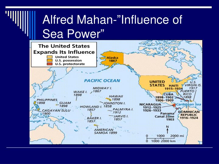 "Alfred Mahan-""Influence of Sea Power"""
