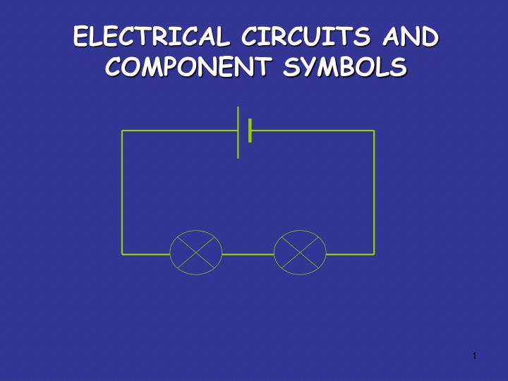 Ppt Electrical Circuits And Ponent Symbols Powerpoint Rhslideserve: Electrical Schematic Symbols For Powerpoint At Gmaili.net