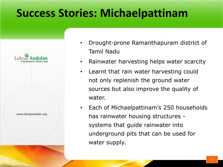 Success Stories: Michaelpattinam