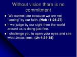 without vision there is no commitment2