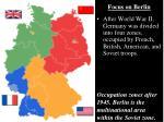 focus on berlin