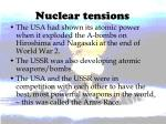 nuclear tensions