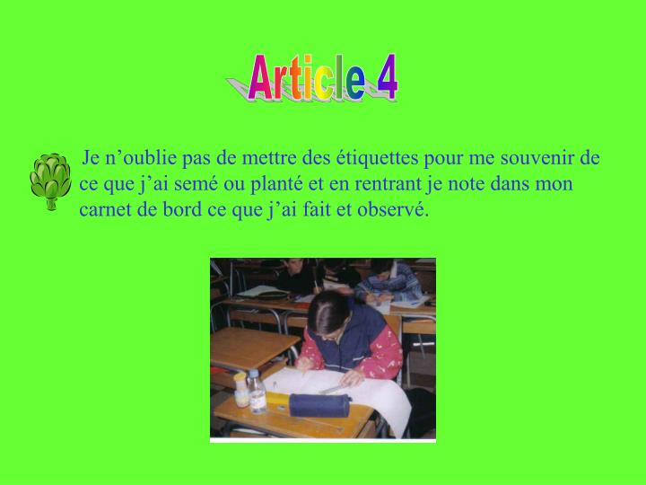 Article 4