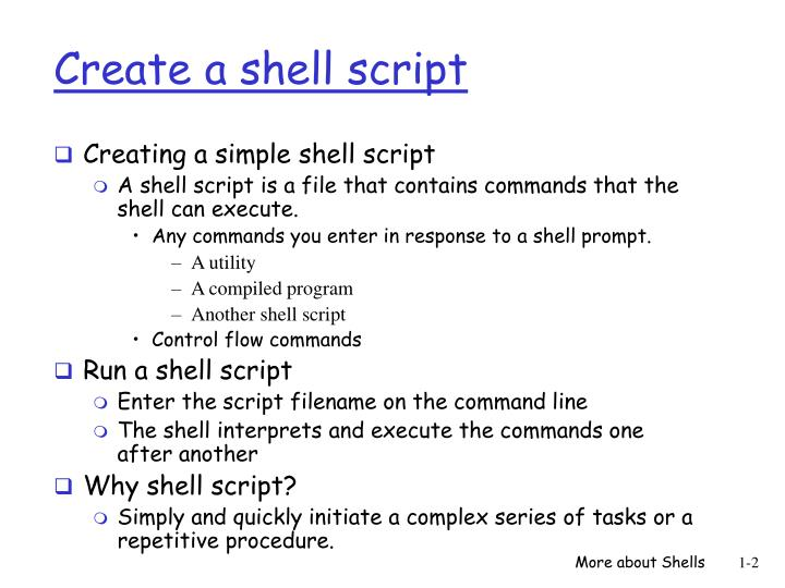 write shell script That's bad scripting ux at play and is what i will be covering in this short piece —  how to write shell scripts with a more pleasant developer ux.