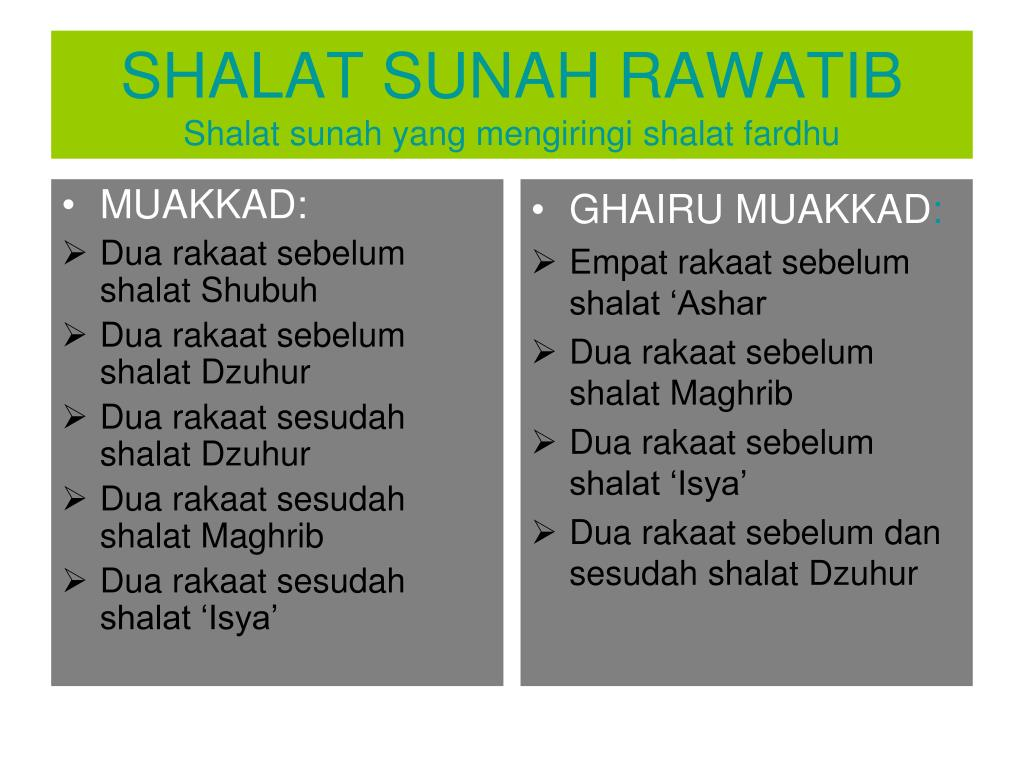 Ppt Shalat Sunnah Powerpoint Presentation Free Download Id 6585328
