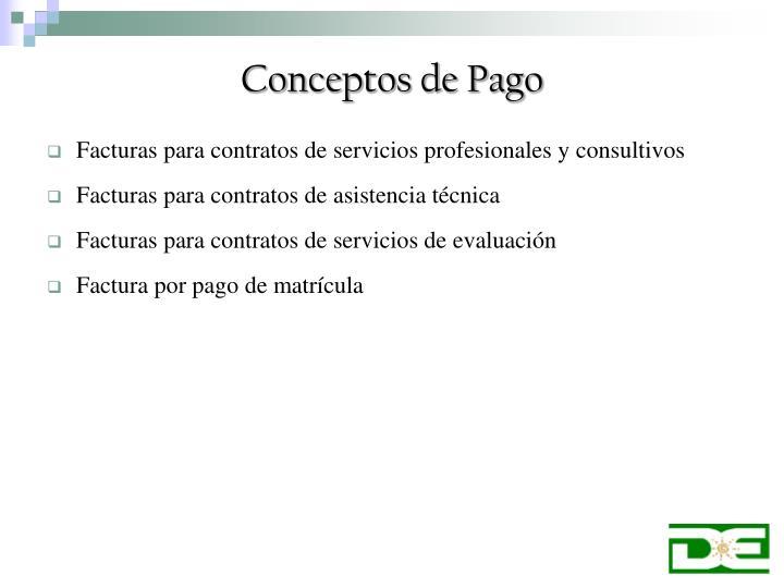 Conceptos de pago1