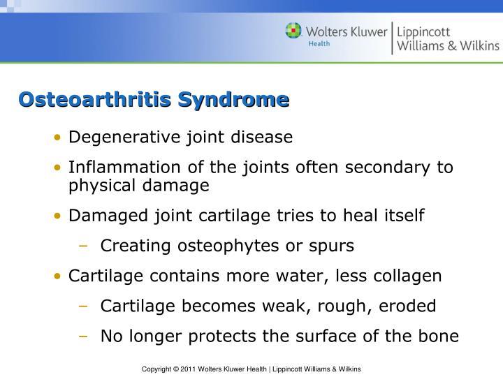 Osteoarthritis Syndrome
