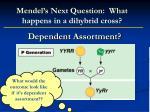 dependent assortment