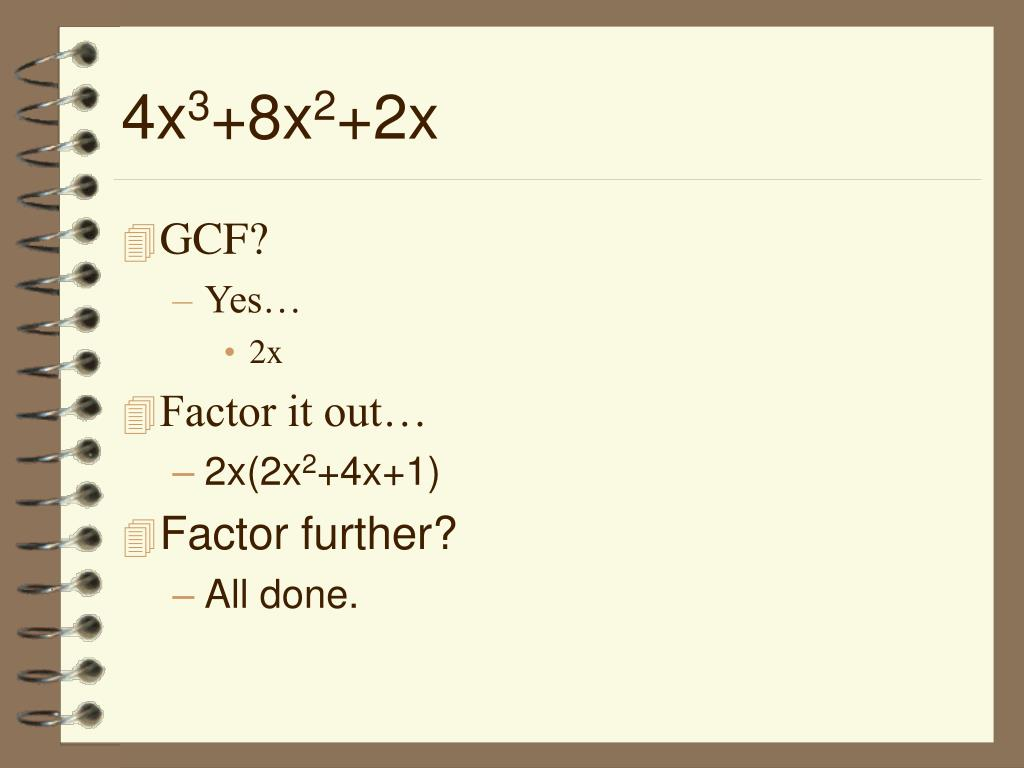 PPT - The Factoring Puzzle PowerPoint Presentation - ID:6585929