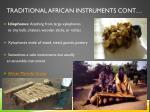 traditional african instruments cont1