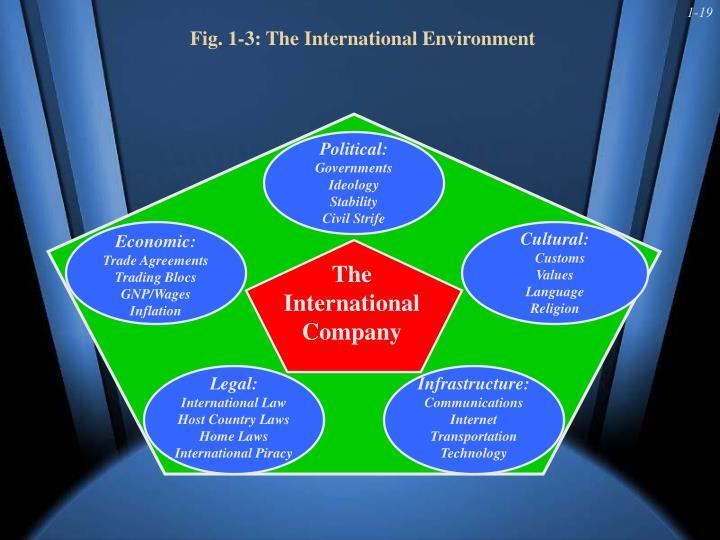 Fig. 1-3: The International Environment